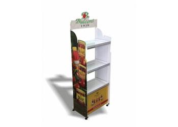 Рекламни стелажи за хранителни стоки
